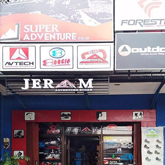 Jeram Adventure Store - Penyedia Perlengkapan Olahraga dan Aktivitas Luar Ruangan