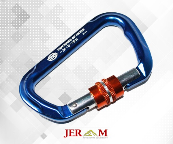 Carabiner HMS Nut Screw