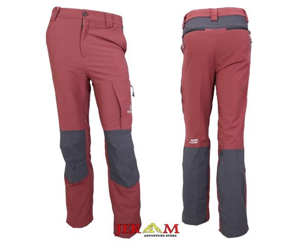 Celana Gunung Hiking Training Pria Celana Panjang Highgear Menthosa