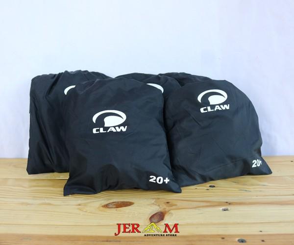 Cover Bag Pelindung Tas Mantol Ransel Hitam Claw 20-25 L