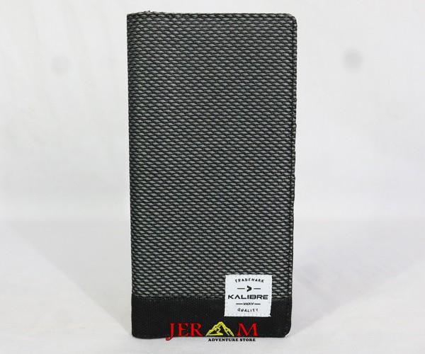 Dompet Panjang Kain Grey Black Dompet Kalibre 995359 220