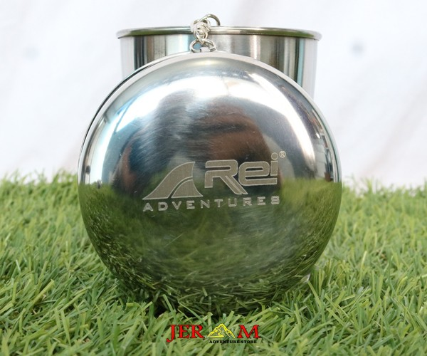 Gelas Lipat Cup Stainless Steel Mug Cup Rei ML CL1C-MF