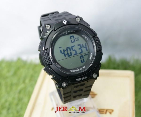 Jam Tangan Digital Pria Strap Karet Forester JTF 2002