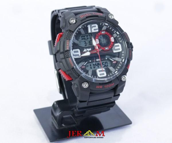 Jam Tangan Dual Time Rei Azura Watch