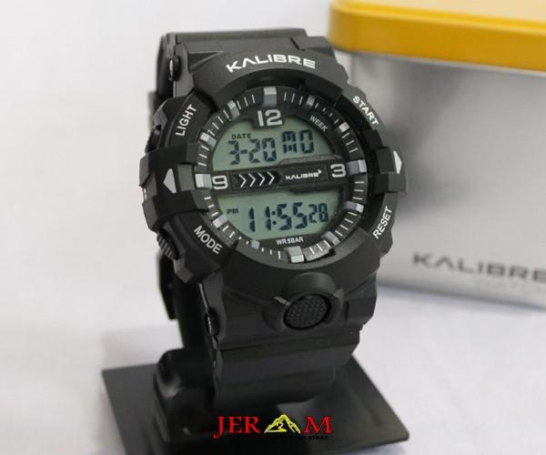 Jam Tangan Keren Digital Pria Jam Kalibre Lico 996235 000