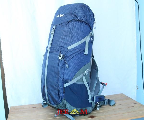 Ransel Gunung Tas Carrier Rei Borneo 60+5 L