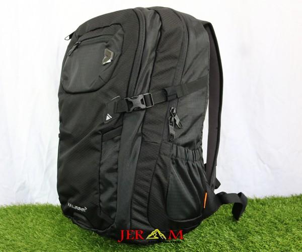 Ransel Hitam Tas Laptop Backpack Pria Kalibre Spyrox 910949 000