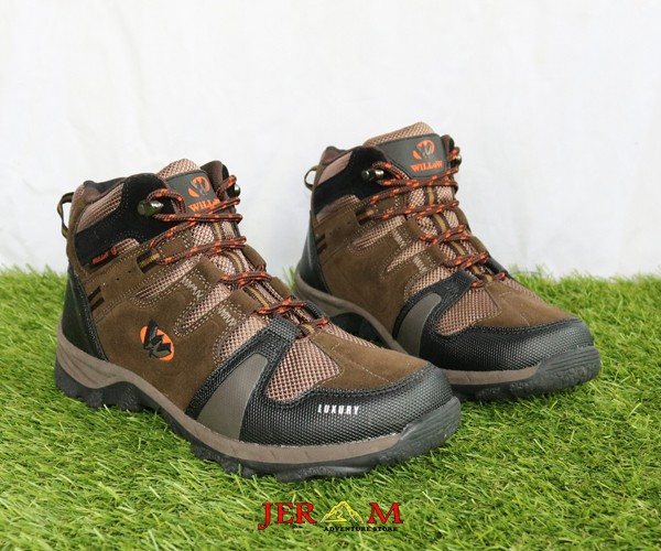 Sepatu Gunung Hiking Pria Terbaru Willow Luxury