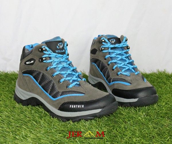 Sepatu Gunung Wanita Tracking Sepatu Hiking Willow Women Series Panther