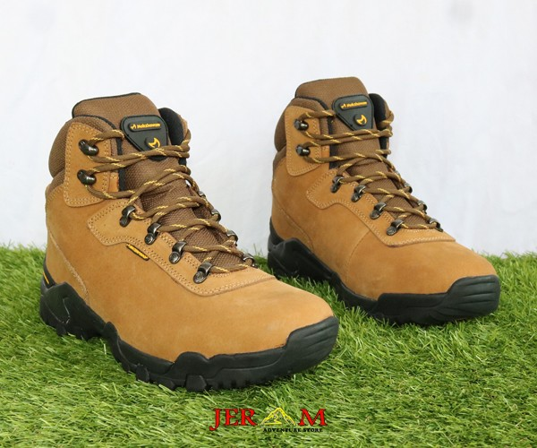 Sepatu Hiking Waterproof Mokzhaware Reality Brown