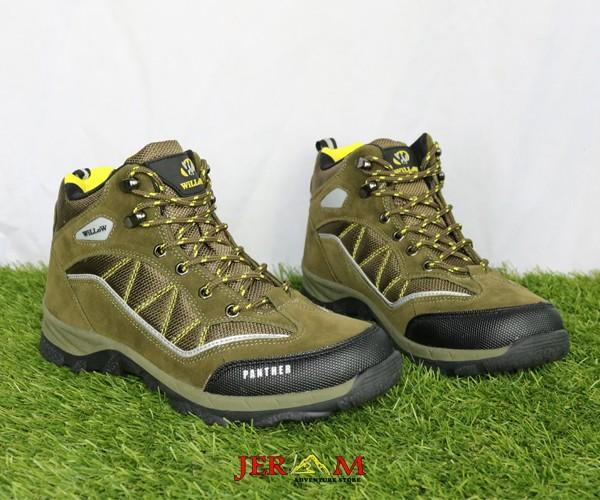 Sepatu Pria Terbaru Gunung Treking Outdoor Willow Panther