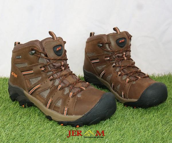 Sepatu Waterproof Hiking Pria Sepatu Mendaki Gunung Rei Kolner RIPP169001