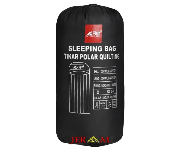 Sleeping Bag Polar Dacron Rei Tikar Polar Quilting R14M25100101