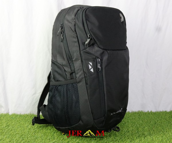 Tas Laptop Hitam Ransel Outdoor Backpack Kalibre Neapolis 21L 910674 000