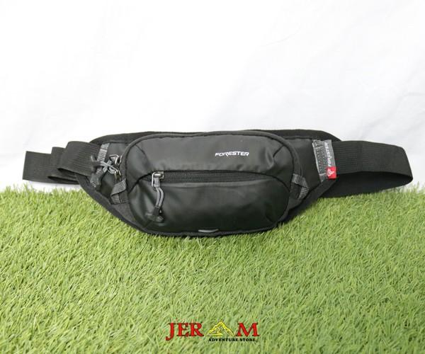 Tas Pinggang Paha Waist Bag Hitam Forester 40125