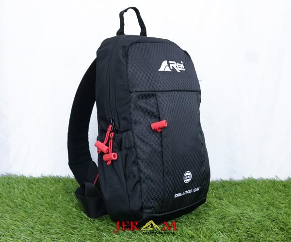 Tas Tali 1 Tas Selempang Bahu Sling Bag Hitam Deluxe 05