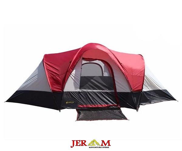 Tenda Hiking Camping Dobel Layer Chanodug FX 8950 Kapasitas 10 Orang