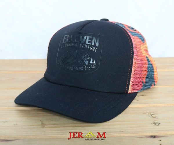Topi Army Jaring Elleven Sublime Cammo TE9416