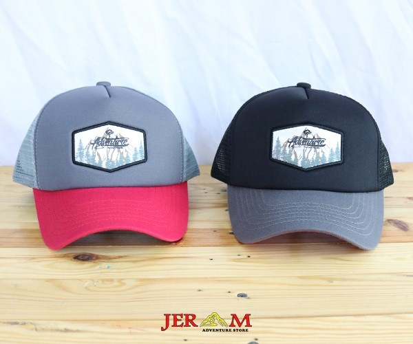 Topi Pria Baseball Snapback Topi Jaring Forester Is Out There TF 04325