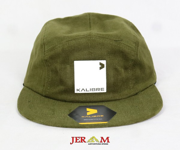 Topi Pria Hijau Army Topi Kalibre 991521 301
