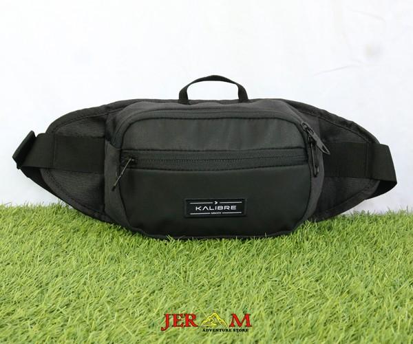 Waist Bag Hitam Tas Pinggang Black Kalibre Forge 2L 920917 000